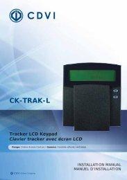 CK-TRAK-L - Easy catalogue