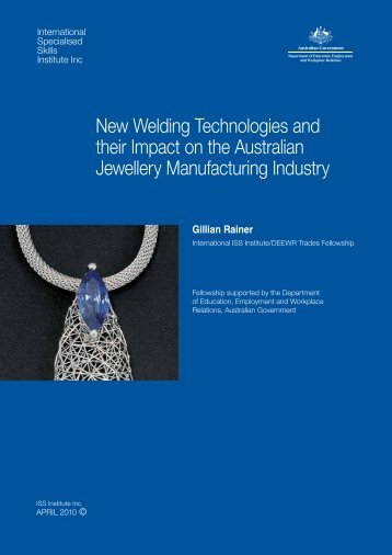 New Welding Technologies and their Impact on the Australian ...