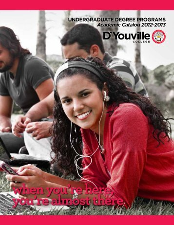 when you're here, you're almost there - D'Youville College