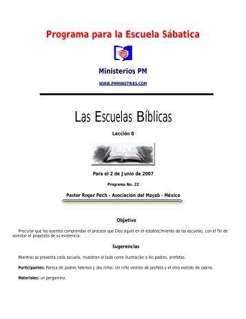 Programa ES - Ministerios PM