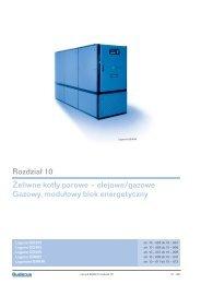 olejowe/gazowe Gazowy, modułowy blok energetyczny ... - Buderus
