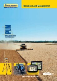Precision Land Management - New Holland