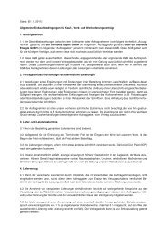 Stand: [01.11.2011] Allgemeine Einkaufsbedingungen ... - Steinbeis
