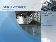 Trends in Dewatering Technologies