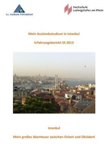 Mein Auslandsstudium in Istanbul Erfahrungsbericht SS 2013 ...