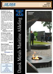Fagblad 5-2011 som pdf - CO-SEA