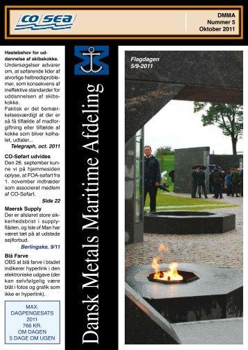 Fagblad 5-2011 som pdf - CO-SEA