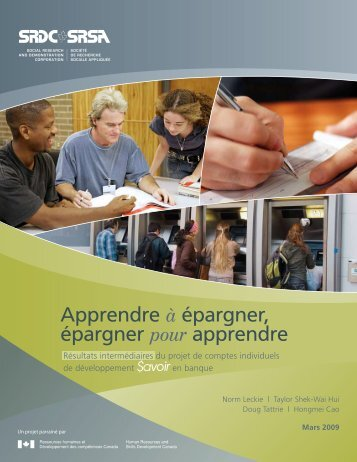 Rapport intégral - Social Research and Demonstration Corp