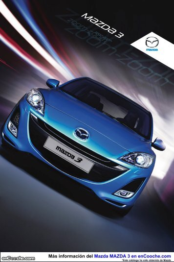 Ficha Mazda3 - enCooche.com