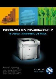La scelta che ripaga il tuo Business - HP