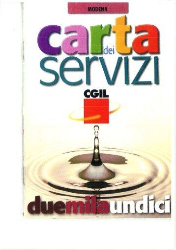Le sedi della provincia - CGIL Modena
