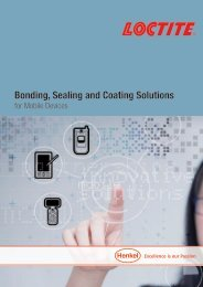 Bonding, Sealing and Coating Solutions
