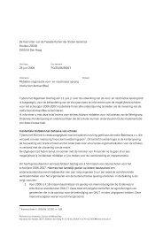 Middelen organisatie voor- en naschoolse opvang (motie Van ... - Avs
