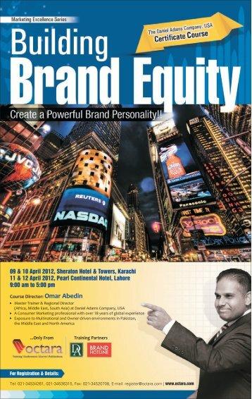 Building Brand Equity - Octara.com