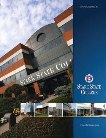 www.starkstate.edu CATALOG 2012-13 - Stark State College