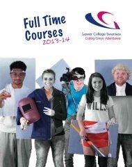 English - Gower College Swansea