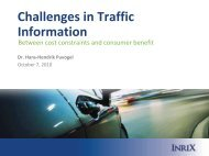 Advanced Traffic Information - Lakeside Conference