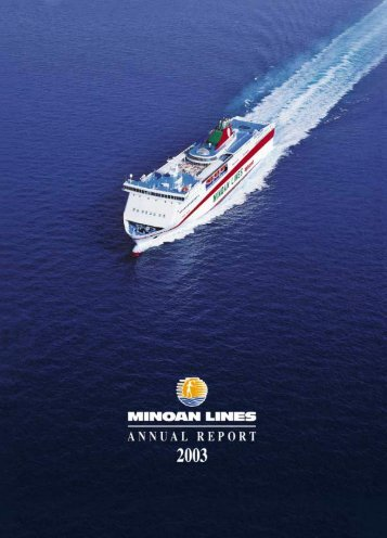 minoan lines shipping sa annual report 2003