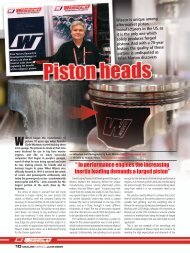 Wiseco Piston Inc - Dealer News Spotlight