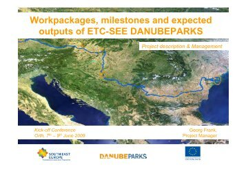 Overall Project Description - DANUBEPARKS