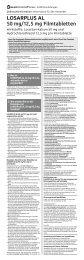 LOSARPLUS AL 50 mg/12,5 mg Filmtabletten - Aliud Pharma GmbH ...