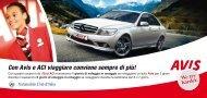 Automobile Club d'Italia - Avis autonoleggio
