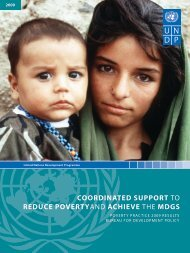 2009 RESuLtS - United Nations Development Programme