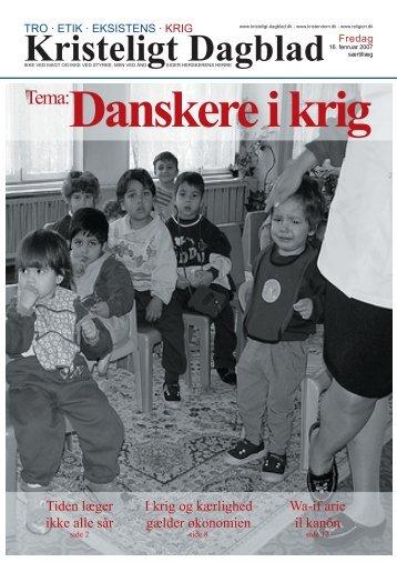 """Magasinet """"Danskere i krig"""" - hej"""