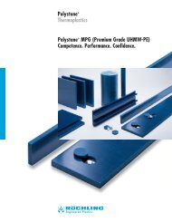 Polystone MPG - Röchling Engineering Plastics