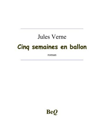 1863 – Cinq semaines en ballon - Zvi Har'El's Jules Verne Collection