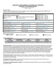 DT1241 Research Progress Report for the Quarter Ending - WisDOT ...