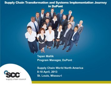Supply Chain Transformation and Systems Implementation Journey ...