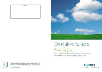 Descubre tu lado ecológico - Philips