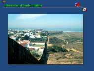 International Border Update