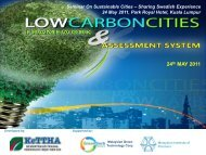 Low Carbon City Framework