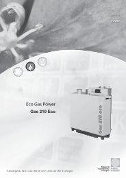 Gas 210 Eco - Certificazione energetica edifici