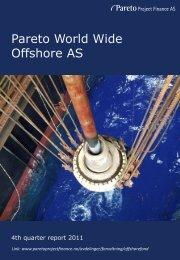 Pareto World Wide Offshore AS - Pareto Project Finance