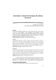 Literatura e cinema Em tempos da cultura de massa* - Revista ...