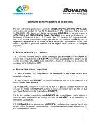 spc/bovespa/isin - Ministério da Previdência Social