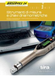 SIRA/2009/cat strumenti misura.pdf - AIRSERVICE 24 srl