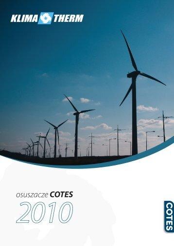 osuszacze COTES - Klima-Therm