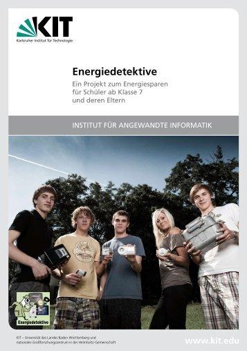neuer Flyer zum Projekt - Energiedetektive - KIT