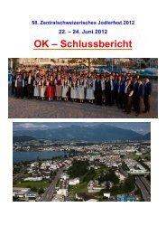 Festbericht OK March - ZSJV