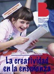 La creatividad en la enseñanza - Colegio de Doctores y Licenciados