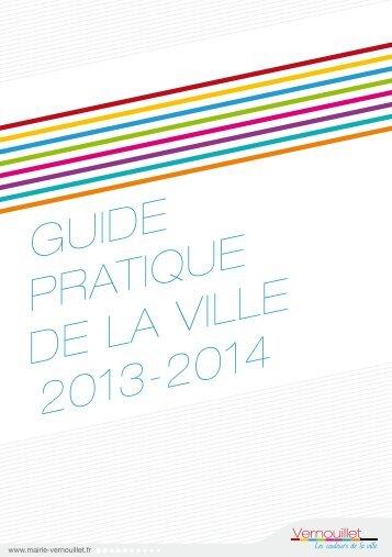 GUIDE PRATIQUE DE LA VILLE 2013-2014 - Mairie de Vernouillet