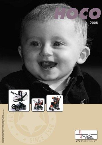 Katalog kočárky HOCO 2008 - Depemo