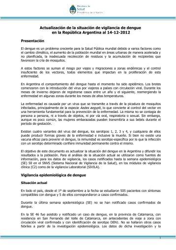 Dengue: Parte Nº80 - Ministerio de Salud