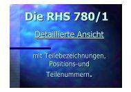 Ersatzteilliste RHS 780 - WAECO - AirCon Service