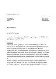 Sehr geehrte Frau Hausmann, anbei schicke ich ... - Justitia et Pax