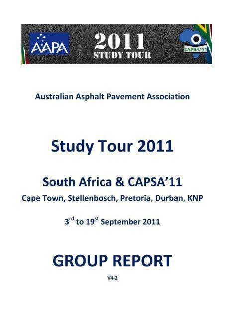 2011_AAPA_Study_Tour.. - Aapaq.org